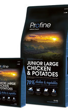 PROFINE JUNIOR LARGE CHICKEN & POTATOES 15 kg