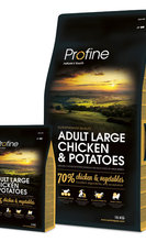 PROFINE ADULT LARGE CHICKEN & POTATOES 15 kg