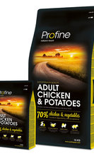 PROFINE ADULT MEDIUM CHICKEN & POTATOES 15 kg