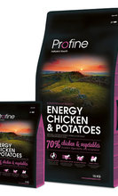PROFINE ENERGY CHICKEN & POTATOES 15 kg